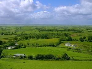 ireland-fields-sky-clouds